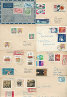 Germany DDR Stamp Collection Cover Lot, Over 100 Different, JFZ