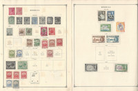 Bermuda Stamp Collection on 16 Scott International Pages to 1977, JFZ
