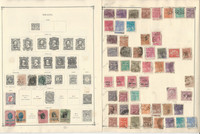Brazil Stamp Collection on 40 Scott International Pages, To 1978, JFZ