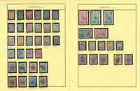 Bulgaria Stamp Collection on 13 Pages, Neatly Identified, JFZ