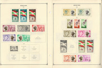 Burundi Stamp Collection on 24 Scott International Pages, to 1977, JFZ