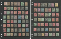 Cape of Good Hope Stamp Collection on 5 Pages, Unchecked & Unsorted, JFZ