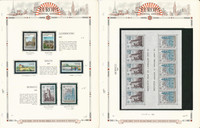Europa Stamp Collection on 12 White Ace Pages, 1977-1978, JFZ