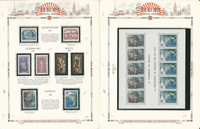 Europa Stamp Collection on 18 White Ace Pages, 1978-1979, JFZ