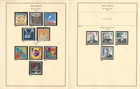 Great Britain Stamp Collection on 18 Steiner Pages, 1995-2001 Mint NH, JFZ