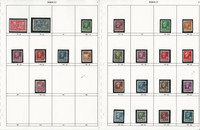 Norway Stamp Collection on 26 Pages, Neatly Identified, JFZ