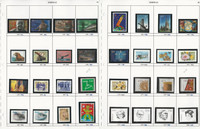 Norway Stamp Collection on 15 Pages, Neatly Identified, JFZ