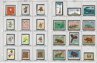 Poland Stamp Collection on 50 Pages, Neatly Identified, JFZ
