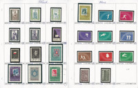 Poland Stamp Collection on 15 Pages, Mint NH Sets, 1960-65, JFZ