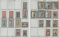 Russia Stamp Collection on 24 Pages, Neatly Identified, #1652//2240, JFZ