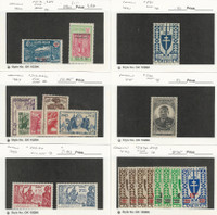 Cameroon, Postage Stamp, #212//303 Mint Hinged & LH, 1926-46 French, JFZ