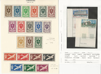 Cameroons, Postage Stamp, #282-95, C1-7 Mint Hinged, C63-4 NH, JFZ