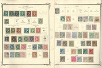 Caribbean Stamp Collection to 1855-1898 in Scott Specialty Album, Spanish, JFZ