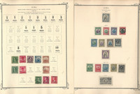 Caribbean Stamp Collection to 1898-1947 in Scott Specialty Album, 16 Pages, JFZ