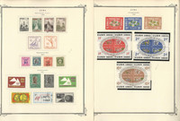 Caribbean Stamp Collection to 11947-1960 in Scott Specialty Album, 17 Pages, JFZ