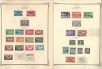Caribbean Stamp Collection Airpost to 1960 in Scott Specialty Album, 22 Pgs, JFZ