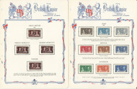 British Colonies 1937 Coronation Set Mint Complete on 24 White Ace Pages, JFZ