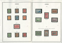 Canada 1937-1972 Stamp Collection on 22 Harris Pages, JFZ