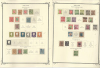 Iceland 1873-1922 Stamp Collection on 4 Scott Specialty Pages, JFZ