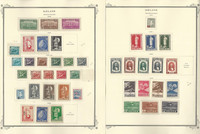 Iceland 1938-48 Stamp Collection on 2 Scott Specialty Pages, JFZ