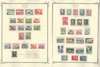 Iceland 1949-56 Stamp Collection on 2 Scott Specialty Pages, JFZ