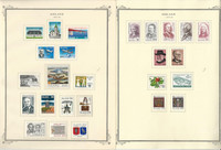Iceland 1978-1995 Stamp Collection on 22 Scott Specialty Pages, JFZ