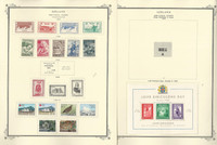 Iceland Back of Book to 1972 Stamp Collection on 10 Scott Specialty Pages, JFZ