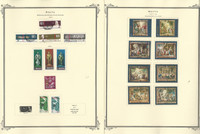 Malta Stamp Collection on 24 Scott Specialty Pages, 1976-1990, JFZ