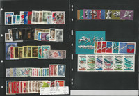 Russia Stamp Collection 3 Stock Pages, 1977 Mint NH Sets, JFZ
