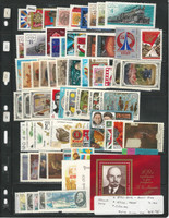 Russia Stamp Collection 2 Stock Pages, 1979 Mint NH Sets, JFZ