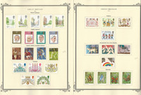 Great Britain Stamp Collection on 40 Scott Specialty Pages, 1976-1989, JFZ