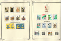 Great Britain Stamp Collection on 24 Scott Specialty Pages, 1990-1995, JFZ