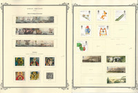 Great Britain Stamp Collection on 24 Scott Specialty Pages, 2004-2007, JFZ