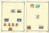 Great Britain Stamp Collection on 23 Scott Specialty Pages, 2010-2014, JFZ
