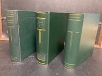 Scott Specialty Binders, 2 Post, 3 Inch, Lot of Three, Central America+, JFZ