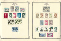 Belgium Semi's Stamp Collection on 20 Scott Specialty Pages, 1963-1972, JFZ
