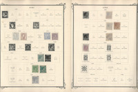 Caribbean Stamp Collection on 30 Scott Specialty Pages, 1855-1946, JFZ
