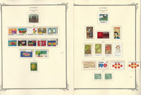 Canada Stamp Collection on 42 Scott Specialty Pages, 1970-1983 Mint, JFZ