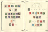 Denmark Stamp Collection on 12 Scott Specialty Pages, 1920-1962, JFZ