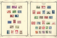 Denmark Stamp Collection on 20 Scott Specialty Pages, 1962-1983, JFZ
