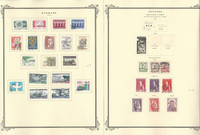 Denmark Stamp Collection on 12 Scott Specialty Pages, To 1980 BOB, JFZ