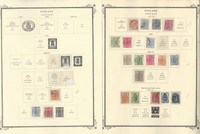Finland Stamp Collection on 4 Scott Specialty Pages, 1858-1929, JFZ