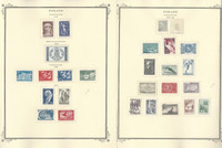 Finland Stamp Collection on 21 Scott Specialty Pages, 1956-1980, JFZ