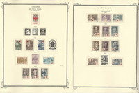 Finland Stamp Collection on 16 Scott Specialty Pages, To 1980 BOB, JFZ