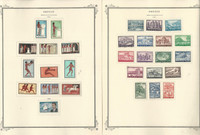 Greece Stamp Collection on 22 Scott Specialty Pages, 1960-1970, JFZ