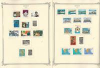 Greece Stamp Collection on 26 Scott Specialty Pages, 1978-1986, JFZ