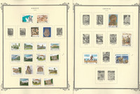 Greece Stamp Collection on 18 Scott Specialty Pages, 1992-1999, JFZ
