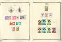 Haiti Stamp Collection on 35 Scott Specialty Pages, 1962-1999, JFZ