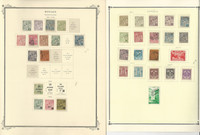 Monaco Stamp Collection on 6 Scott Specialty Pages, 1891-1937, JFZ