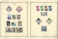 Monaco Stamp Collection on 22 Scott Specialty Pages, 1958-1967, JFZ